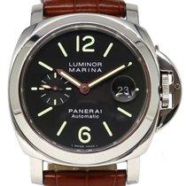 Panerai PAM 104 Luminor Marina Automatic Date 44mm Stainless...