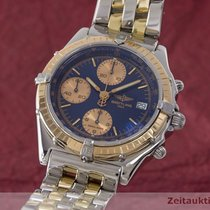 Breitling Chronomat Chronograph Automatik Gold / Stahl C13048