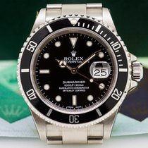 Rolex 16610 16610 Submariner Date SS NEW OLD STOCK Full-Set...