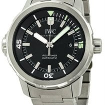 IWC IW329002 Aquatimer Swiss Automatic Date Black Dial Men...