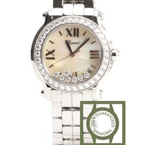 Chopard Happy Sport NG Floating Diamonds White gold NEW