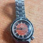 Zenith defy plongeur 600 mt red dial rare vintage diver