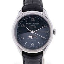 Baume & Mercier Clifton 43 Moon Phase Blue Dial