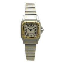 Cartier galbee 1057930 or & acier steel & gold quartz...