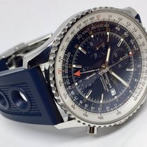 Breitling Navitimer World GMT Chronograph Automatic Men's