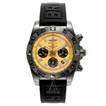 Breitling Men's Chronomat 44 Blacksteel Watch