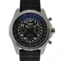 Breitling Bentley 24 Hour Chronograph Stainless Steel Black...