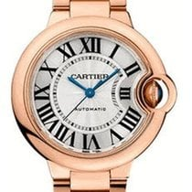 Cartier W6920096 Ballon Bleu Ladies 33mm Automatic in Rose...