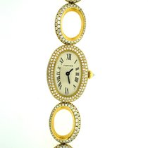 Cartier Unique Baignoire with gold diamonds rings bracelet