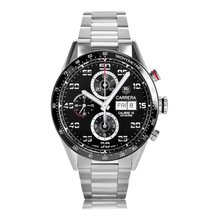 TAG Heuer Carrera 16 Day Date Automatic Chronograph Stainless...