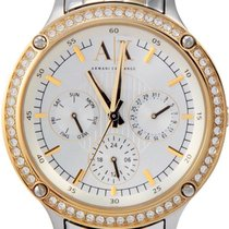 Armani Capistrano Silver Dial Stainless Steel Ladies Watch Ax5410