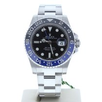 Rolex 116710 GMT Master II Batman Watch Black Face With Blue &...