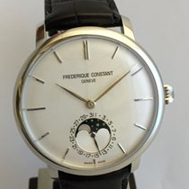 Frederique Constant Slimline Moonphase Manufacture New...