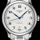 Longines Master Collection 38,5mm Automatic Silver Dial da...