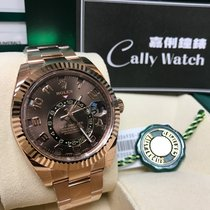 Rolex Cally - [NEW] Sky-Dweller 326935 朱古力面 Brown Dial
