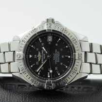Breitling Colt Automatic Pilotband Steel Black Dial 38 mm (2004)