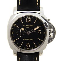 Panerai Luminor 1950 3 Days Gmt 24h Automatic Acciaio PAM531