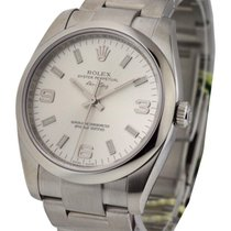 Rolex Used 114200_used_silver_arabic New Style Air King with...