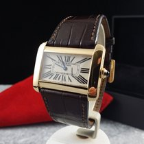 Cartier Tank Divan XL Yellow Gold 18 krt (Full Set)