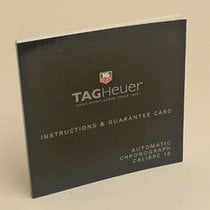 TAG Heuer Automatic Chronograph Calibre 16 Manual Info Booklet
