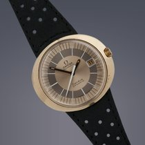 Omega Dynamic Geneve gold plated automatic watch