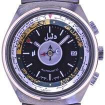 Dalil Mans Automatic Wristwatch The Moslems Watch