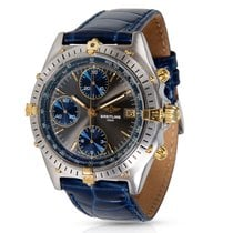 Breitling Chronomat B13047 Men's Watch in Yellow Gold/Steel