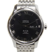 Omega De Ville Stainless Steel Black Automatic 431.10.41.22.01...