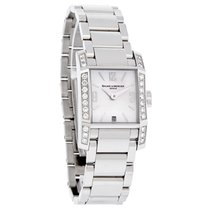 Baume & Mercier Diamant Ladies MOP Diamond Swiss Quartz...