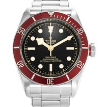 帝陀 (Tudor) Heritage Black Bay Red Bezel Steel Bracelet...