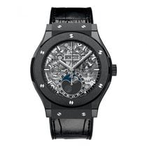 Hublot Classic Fusion Black Magic Aerofusion Moonphase...