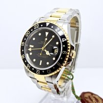 Rolex GMT MASTER II 16713 Box and Papers Full Set Rare MINT