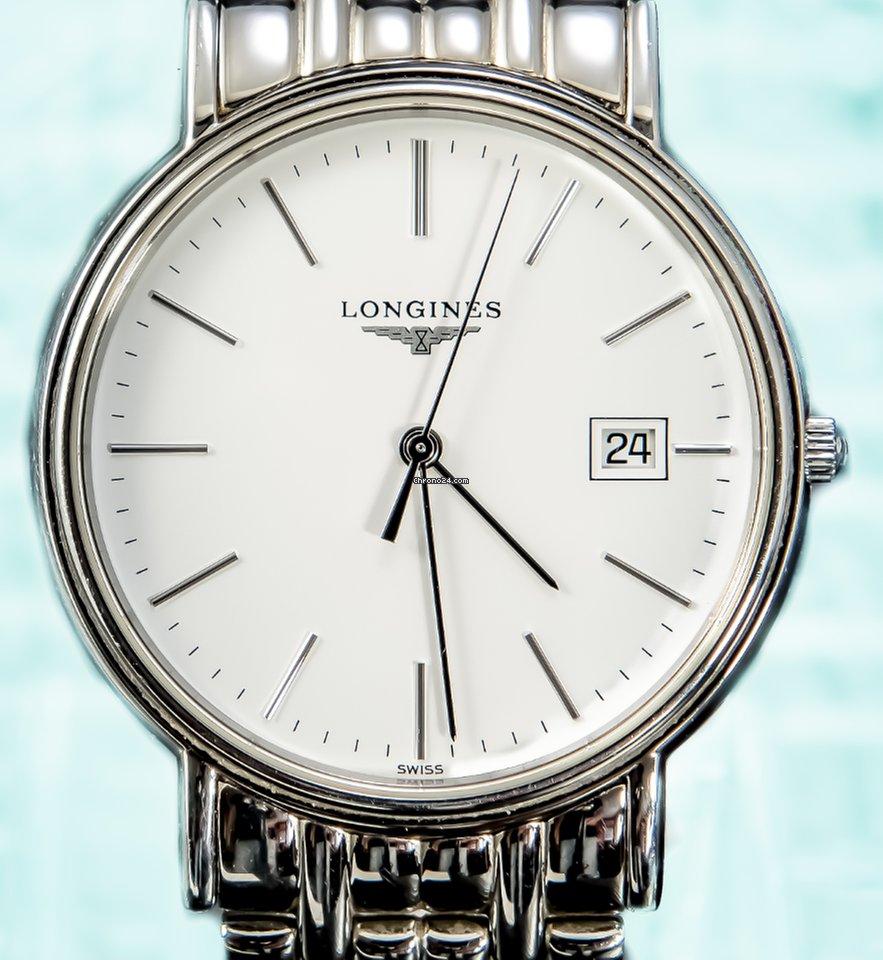 Longines Presence On Stainless Steel Bracelet New L47904122... eladó 279  453 Ft Trusted Seller státuszú eladótól a Chrono24-en 04183f11d6