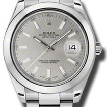 Rolex Datejust II 41MM Silver Stick Dial 116300