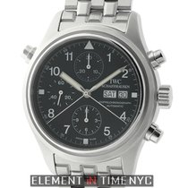 IWC Pilot Collection Doppel Chronograph Split Second Steel...