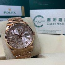 Ρολεξ (Rolex) Cally - Day-date President 118235J Pink Jubilee...
