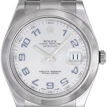 Rolex Datejust II Men's 41mm Stainless Steel Watch...