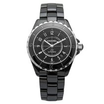 Chanel J12 Black Ceramic & Steel