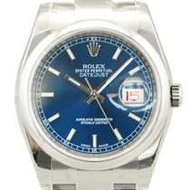 Rolex DateJust Stainless Steel Blue Dial-116200