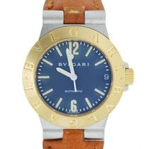 Bulgari LCV29GS Two Tone Watch on Leather