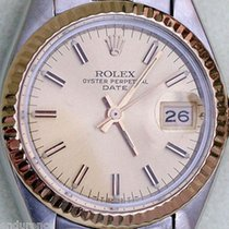 Rolex Ladies Two Tone Vintage Retro Lady Date Steel & 14k...