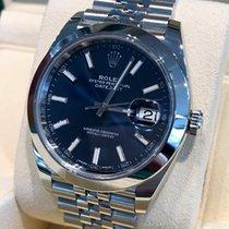 Rolex Oyster Datejust II Jubilee Steel Blue Dial 41 mm (Full Set)