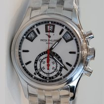 Patek Philippe Complications chronograph 40.5 silvery opaline...