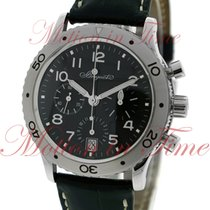 Breguet Type XX Transatlantique, Black Dial - Stainless Steel...