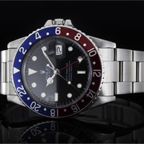 Rolex GMT-Master (40mm) Ref.: 16750 Pepsi mit Plexiglas und...