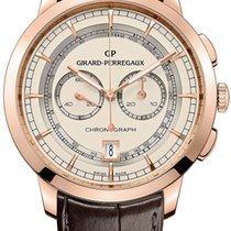 Girard Perregaux 1966 Column-Wheel Chronograph 40mm Rose Go