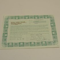 Rolex Warranty Certificate Ref: 14060M