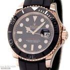 Rolex Yachtmaster Man Size Ref-116655 18k Rose Gold Ceramic...