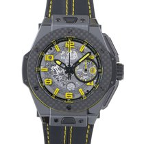 Hublot Big Bang Ferrari Ceramic Carbon Mens Chronograph Watch...