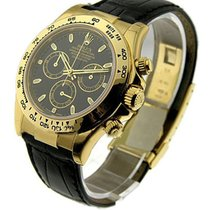 Rolex Unworn 116518 Yellow Gold DAYTONA on Strap - 116518 -...